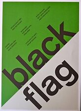 "Black Flag - Social Distortion - Mini-Concert Poster - 10""x14"""