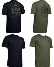 Under Armour 1343356 Mens UA Freedom Skull w/ Knife Tee Short Sleeve T-Shirt