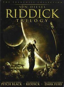 Riddick Trilogy (DVD) 3 Movie Set! Vin Diesel