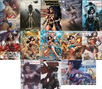 *LOT Wonder Woman Variants #750 Campbell, Artgerm, Lee, Bosslogic, Parrillo, NM
