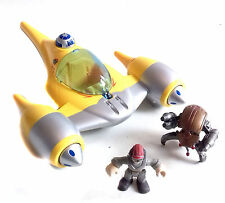 STAR Wars Galactic Heroes NABOO FIGHTER veicolo giocattolo & 2 Action Figure Set Lotto
