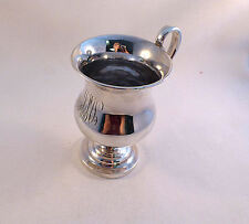 Coin Silver Jacob Libby Boston Ca. 1820-1846 Large Footed Cup