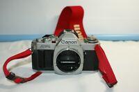 Retro Vintage CANON AV-1 35mm SLR Film Camera Body