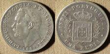 Portuguese India - Goa: 1 Rupia 1881 XF+/AU KM#312 IR6300
