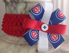 Chicago Cubs  Childrens Headband
