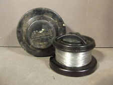 VINTAGE MITCHELL PLASTIC FISHING LINE SPOOL MARKED FRANCE