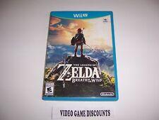 Original Box Case for Nintendo Wiiu Wii U The Legend of Zelda Breath of the Wild