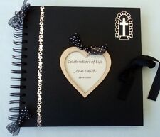 Memory Book for Funeral Celebration of Life Remembrance Book