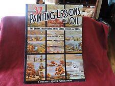 32 Painting Lessons In Oil   by Bela & Jan Bodo  Art Instruction  #113  Vintage