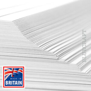 12 inch Square White Card - 250gsm 300gsm 400gsm - 305 x 305mm - All Quantities