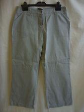Ladies Trousers - Principles PETITE size 14/EU 42, pincord, light green - 0500