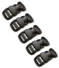 5 X GENUINE ITW NEXUS CONTOURED FASTEX BUCKLES FOR PARACORD BRACELETS