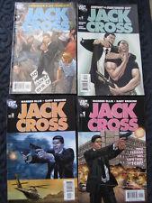 JACK CROSS - COMPLETE 4 PART SERIES by  WARREN ELLIS & GARY ERSKINE. DC. 2003