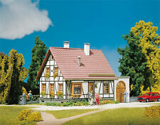 130215 Faller HO Kit of a Timbered House with Garage - NEW