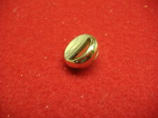 New King Trumpet Finger Button in Brass Finish, No Pearl!
