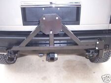 Tire Rack Carrier with drop down option for Hummer H2