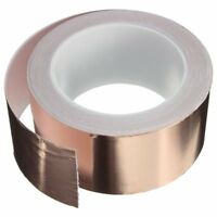 Copper Foil Tape - (50mm x 20m) - EMI Shielding Conductive Adhesive for Sta Y7H2