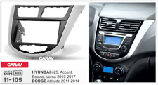 CARAV 11-105 Car Radio Fascia Stereo Trim Dash Kit for HYUNDAI i-25 2010+/ DODGE