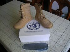 07's series China PLA Army United Nations Combat Microfiber Leather Boots,Desert