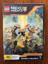 Lego Nexo Knights: Season 3 Volume 2 DVD Region 4 New & Sealed