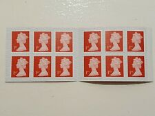 1st class Royal Mail Ist First Class Self Adhesive 12 x 2 Books = 24 Stamps