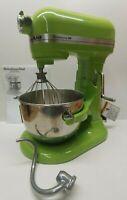 Kitchenaid Professional HD Series 5 Quart Bowl-Lift Stand Mixer Green Apple 475W