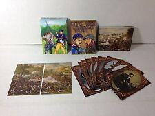 CIVIL WAR CHRONICLES VOLUME 1 (Cult-Stuff/2013) Complete Card Set w/ Chase Set +