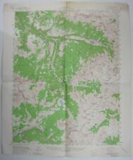 Telluride CO Silver Mining Quad USGS Topographical Map San Miguel County 1955