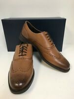 Cole Haan Men's C25805 Dustin Wing Oxford British Tan Leather Size 11M
