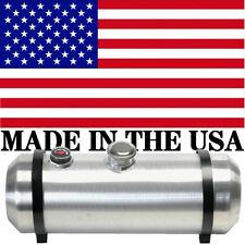 10X36 Spun Aluminum Gas Tank 12 Gallons With Sight Gauge - Rat Rod - Center Fill