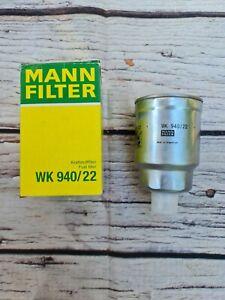 MANN WK940/22 Fuel Filter NISSAN