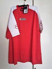 2 Teiler T-shirt und kurze Hose in rot-weiß Gr. XXL von Lotto