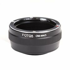 FOTGA Olympus OM lens to M4/3 Adapter For Panasonic G7KGK GH3 Olympus E-PL7 E-5