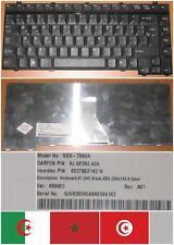 CLAVIER QWERTY ARABE TOSHIBA A10 A85 M30 M35 M40 M50 M55 NSK-T9A0A 9J.N8382.A0A