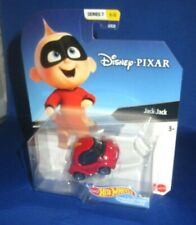 DISNEY SERIES 7 INCREDIBLES JACK #6 HOT WHEELS COLLECTOR CHARACTER CARS