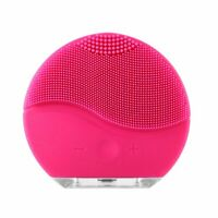 USB Charging Waterproof Electric Silicone Facial Cleansing Brush Gesichtsreinige