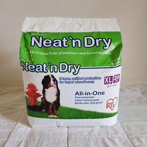 "IRIS Neat 'n Dry Premium Pet Training Pads XL 20 pk, Extra Large, 23.5"" x 35.5"""