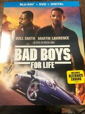 Bad Boys for Life Blu-ray + DVD + Digital + Slipcover  New/ Sealed US authentic