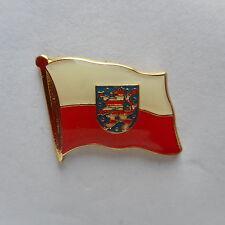 Thüringen Flaggenpin,Pin,Flagge,Flag,Badge,Label