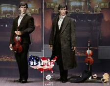 "1/6 Sherlock Holmes Benedict Cumberbatch 12"" Male Figure Full Set ❶USA IN STOCK❶"