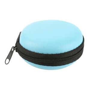 Storage Bag Carrying Hard Hold Case For Earphone Headphone Earbuds SD Card UK US