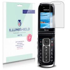 iLLumiShield Matte Screen Protector w Anti-Glare/Print 3x for Nokia 6350