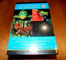 SMITHSONIAN HANDBOOKS Dinosaurs Insects Mammels Reptiles RARE DK Book 5 SET NEW