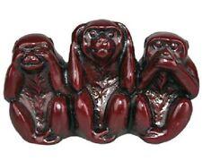 Sanbiki zaru, les trois singes de la sagesse