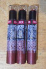3 tube lot BLACK RADIANCE DYNAMIC DUO LIP BALM & GLOSS 5203 BRONZE sealed