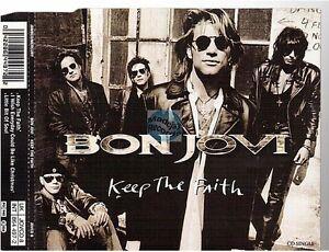 BON JOVI keep the faith CD MAXI uk PICTURE DISC