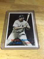 Mickey Mantle Topps 2008 No. MMS73 New York Yankees Babe Ruth Collector Card RP
