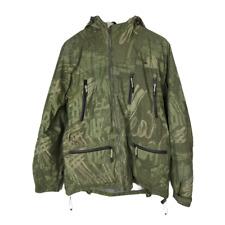 Trespass Coldheat Mens Camouflage Jacket Size S Green Camo Coat Hooded Pockets
