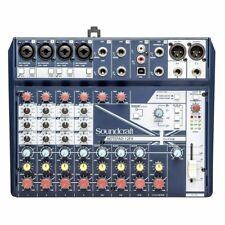 Soundcraft Notepad 12fx Small Format Analog Mixing Console With USB I/o