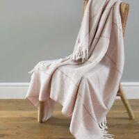 Rose Corail Polaire Throws Blanket avec Licorne Design 120 cm x 150 cm NEUF